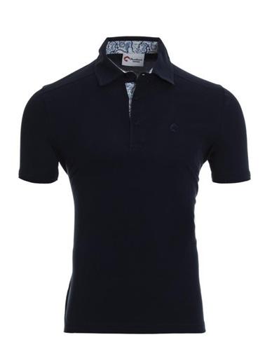 Panthzer  Toluca Erkek  Polo T-Shirt Lacivert